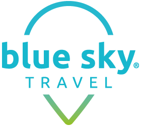 blue sky TRAVEL