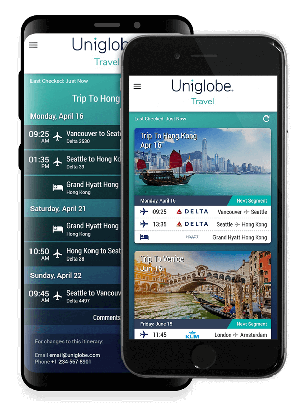 Application Uniglobe Travel